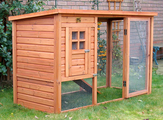 Fern's new bunny cottage